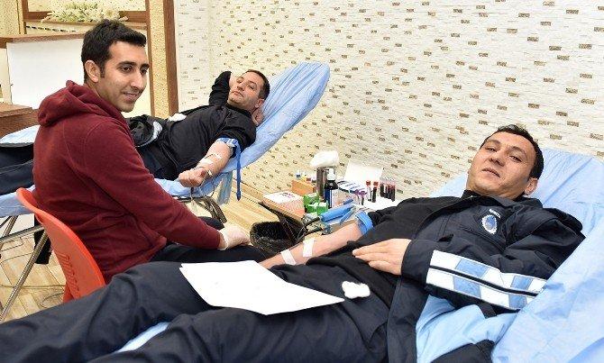 Büyükşehir'den Kan Bağışı Kampanyası