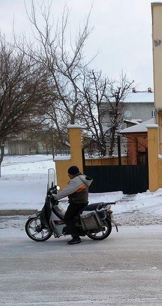 Kahramanmaraş'ta kar ve donduran soğuklar etkili