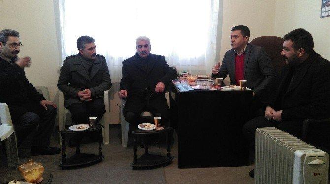 Kars Ülkü Ocakları'ndan Sarıkamış Ülkü Ocakları'na Ziyaret
