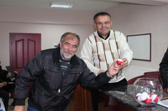 Kayseri İkinci Amatör Futbol Ligi Fikstürü Çekildi