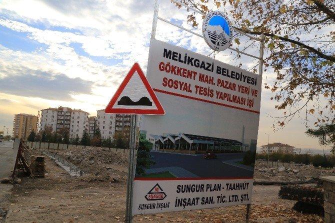 Gökkent Mahallesi Hem Pazaryeri Hem De Sosyal Tesis Kazandırılacak
