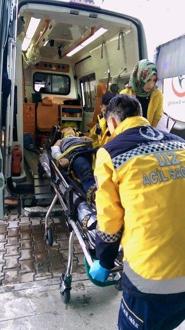 13 Yaşındaki Kız Çocuğu İkinci Kattan Düşerek Yaralandı