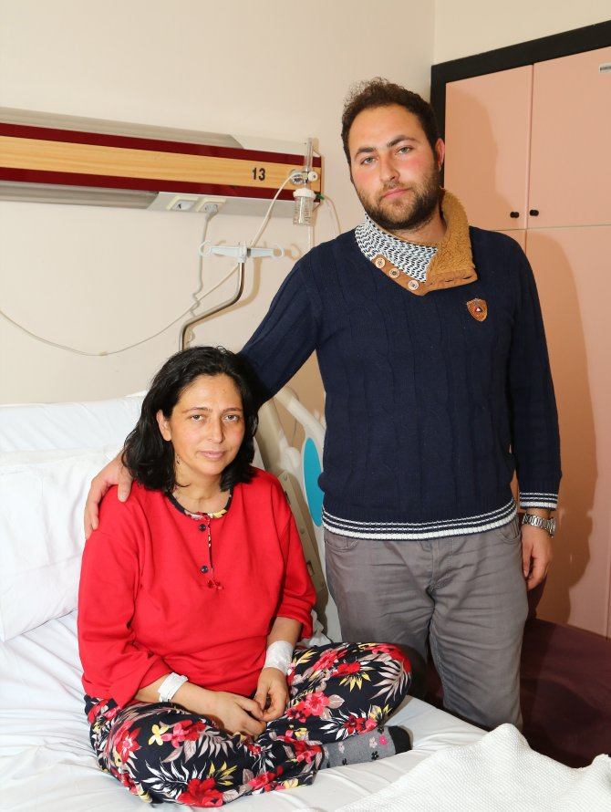 Domuz gribini yenen hamile kadının çifte sevinci