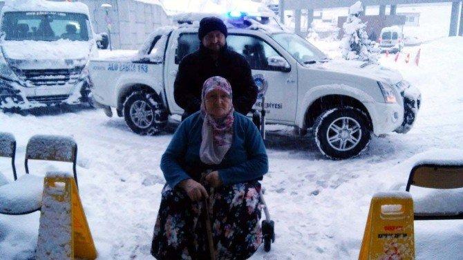 Kdz. Ereğli'de 36 Hastayı İtfaiye Ve Zabıta Hastaneye Ulaştırdı