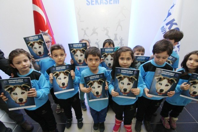Spor Okulu Öğrencilerine Sokak Hayvanları Eğitimi
