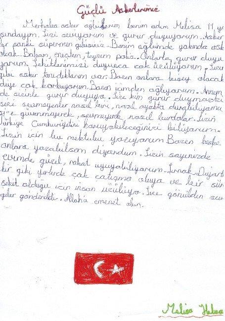 Melisa'nın Mektubu Duygulandırdı