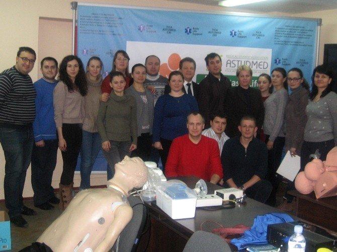 Moldova'da Okullarda İlkyardım Eğitimi Devam Ediyor