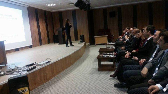 Nevşehir Adliyesinde Toplumsal Cinsiyet Eşitliği Bilgilendirme Toplantısı Yapıldı