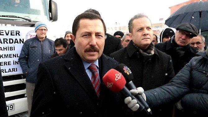 Ordu'dan Bayır Bucak Türkmenlerine Yardım