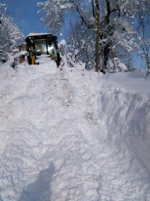 Ünye'de Kar Mücadelesi