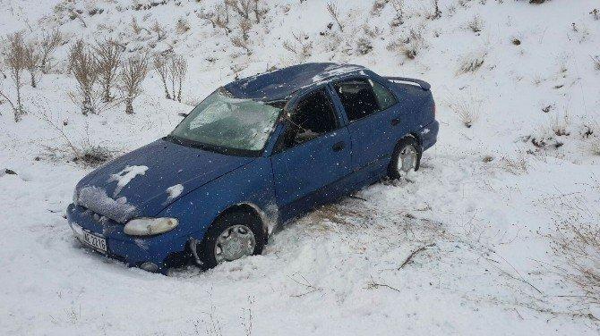 Sivas'ta İki Ayrı Trafik Kazası: 7 Yaralı