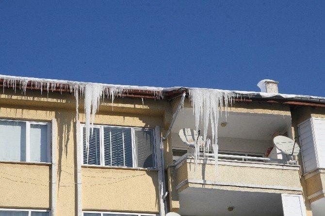 Yozgat'ta Hava Sıcaklığı Eksi 20 Dereceyi Gördü