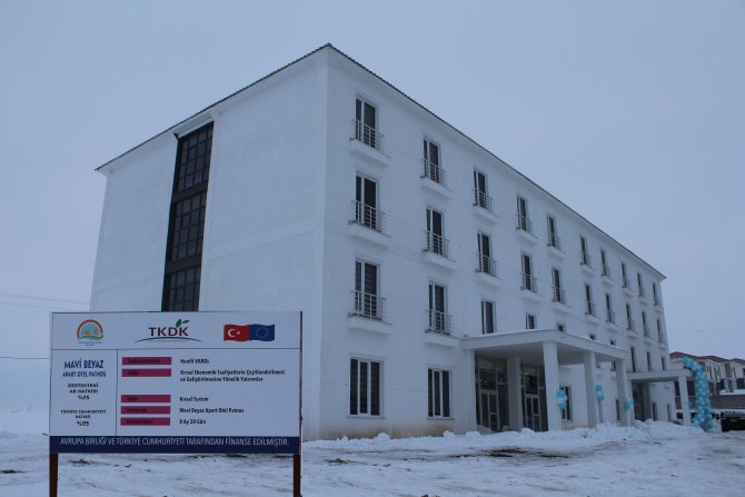 Patnos'ta apart otel açıldı