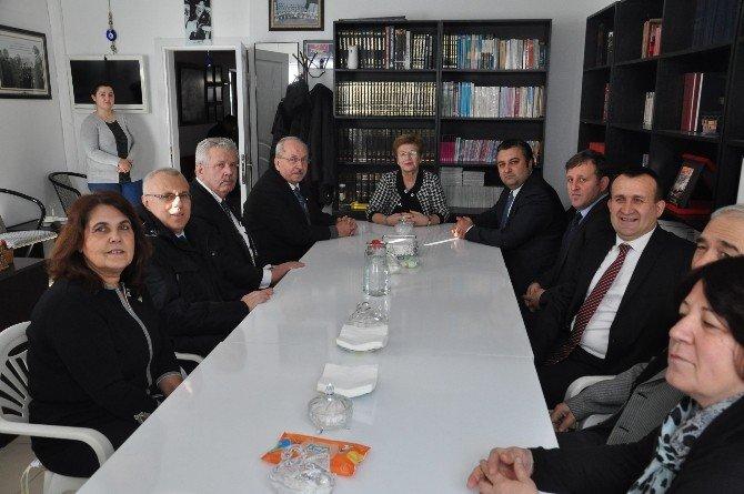 Başkan Albayrak Ve Yurdakul, Malkara'da STK'ları Ziyaret Etti