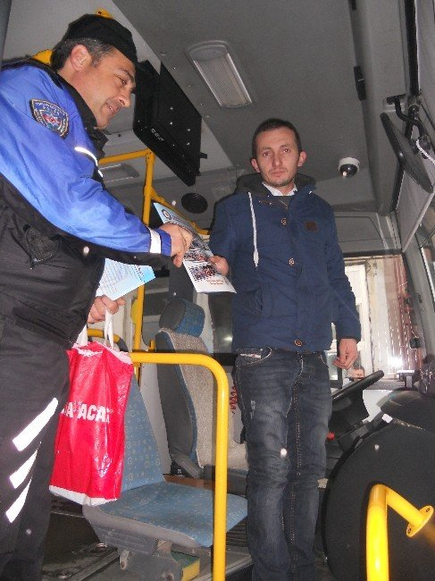 TDP'den Halk Otobüsü Şoförlerine Ziyaret