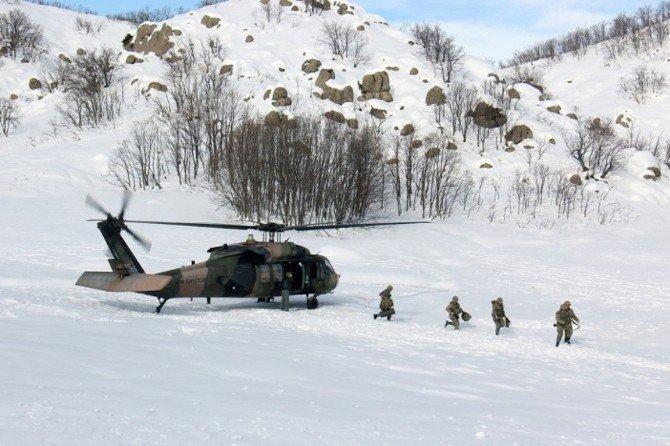 Tunceli'de 'Şehit Binbaşı Yavuz Sonat Güzel' Operasyonu