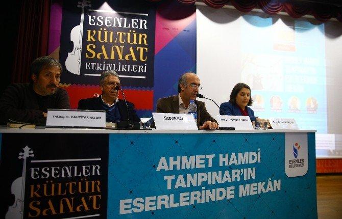 Ahmet Hamdi Tanpınar Esenler'de Anıldı