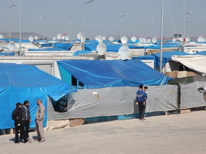 10 İlde Kurulan 25 Çadır Ve Konteyner Kentte 269 Bin Suriyeli Barınıyor