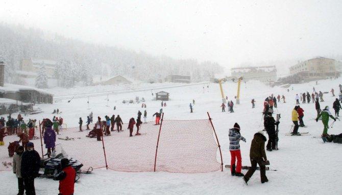 Sömestr tatili Uludağ'daki otellere yaradı