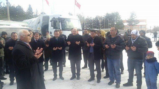 Dumlupınar'dan Bayırbucak Türkmenleri'ne Yardım