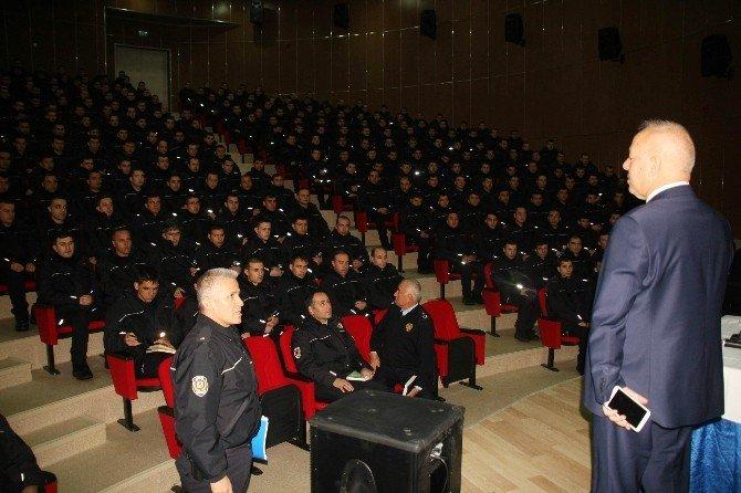 Fakülteli Polisler Göreve Hazırlanıyor