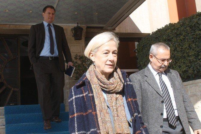 ABD Adana Başkonsolosu Mardin'de