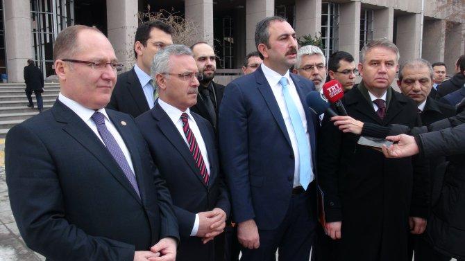 AK Partili vekillere, emekli askerden tepki