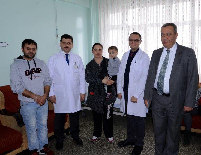 Ameliyat için Ankara'dan Çorum'a geldi