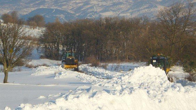 Balıkesir'de Kar Yağışı Başladı