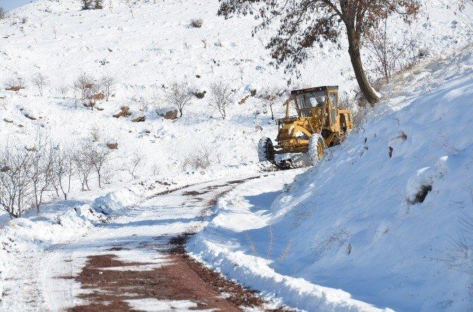 Battalgazi İlçesinde Tüm Mahalle Yolları Ulaşıma Açıldı