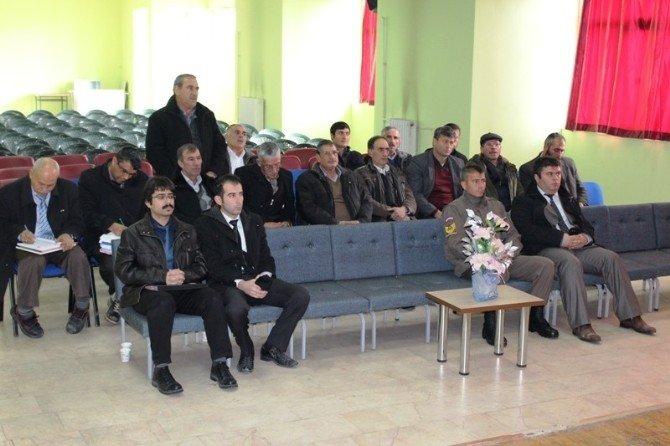 Bayat'ta İçme Suları Kullanımı Koordinasyon Toplantısı Yapıldı