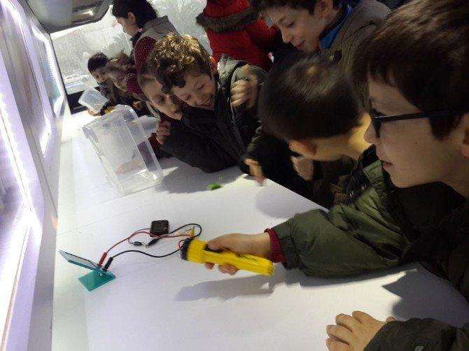 Öğrenciler Bilim Atölyeleriyle Hem Eğlendi, Hem Öğrendi