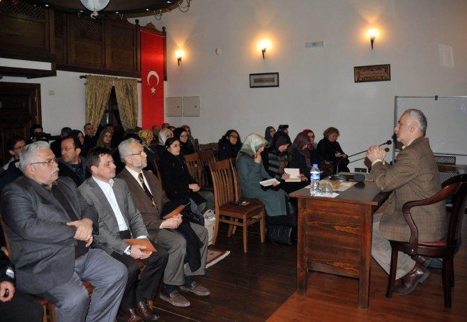 Abdüllatif-i Kudsi Bursa'da anıldı