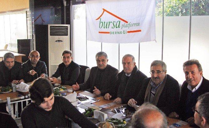 'Hamsi Buluşmaları'nda Bursa'nın Meseleleri Tartışılıyor