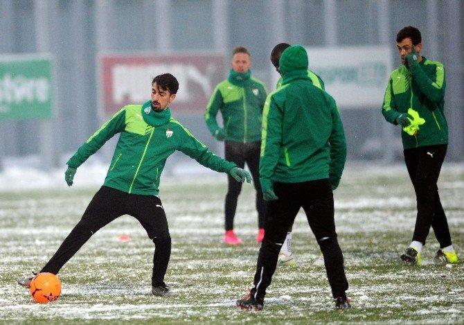 Bursaspor, Eskişehirspor Maçına Hazırlanıyor