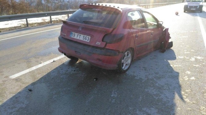 Çankırı'da Trafik Kazası: 1 Yaralı