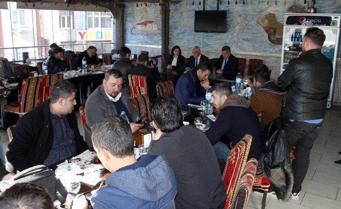 CHP, Basın Mensuplarıyla Buluştu