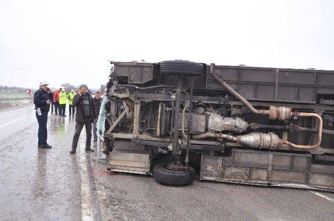 Edirne'de Trafik Kazası: 6 Yaralı