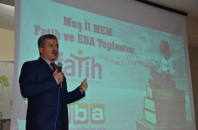 Muş'ta 'Eğitim Bilişim Ağı Projesi'nin Tanıtımı Yapıldı