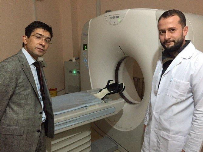 Kaymakam Öztürk'ten Hastane Ziyareti
