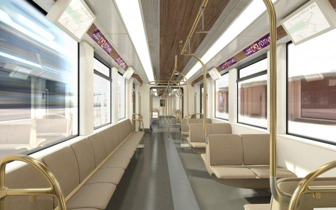 İzmir'in yeni metro vagonları ekimde geliyor