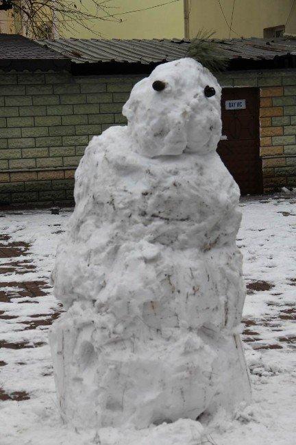 Kırklareli'nde Kar Yağışı Etkisini Azalttı