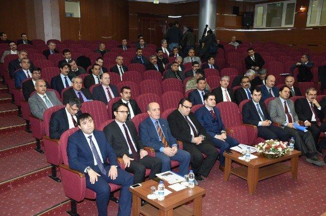 Şanlıurfa'da 2016'nın İlk Koordinasyon Toplantısı Yapıldı