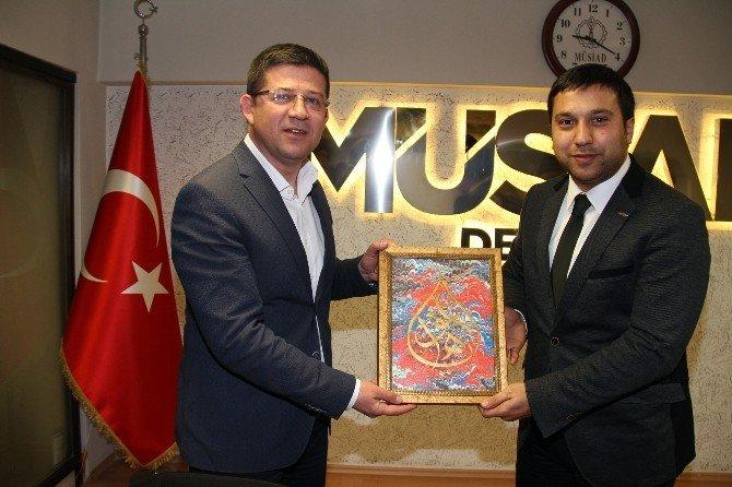Başkan Subaşıoğlu Genç MÜSİAD'a Konuk Oldu