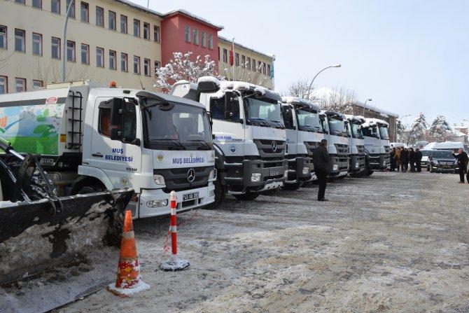 Muş Belediyesi araç filosunu büyütüyor