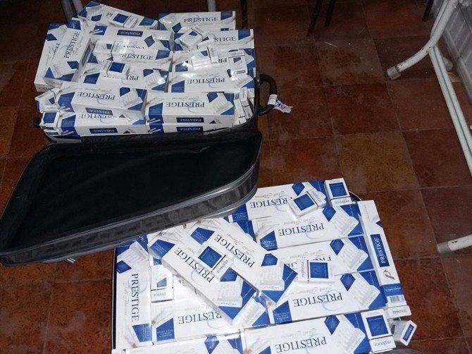 Muş'ta 17 Bin 750 Paket Kaçak Sigara Ele Geçirildi