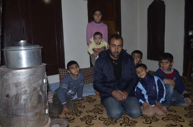 Cizre'de 14 gün çatışmaların arasında kalan 8 kişilik aile Gercüş'e geldi
