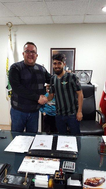Akhisar Belediyespor, Muğdat Çelik İle Sözleşme İmzaladı
