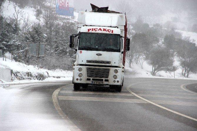 Süpürgelik'te 24 Saat Kar Mesaisi