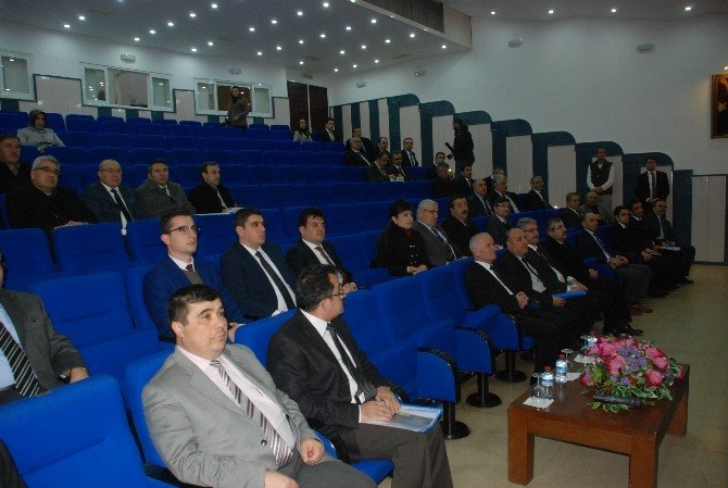 Tokat'ta İl Koordinasyon Kurulu Toplantısı